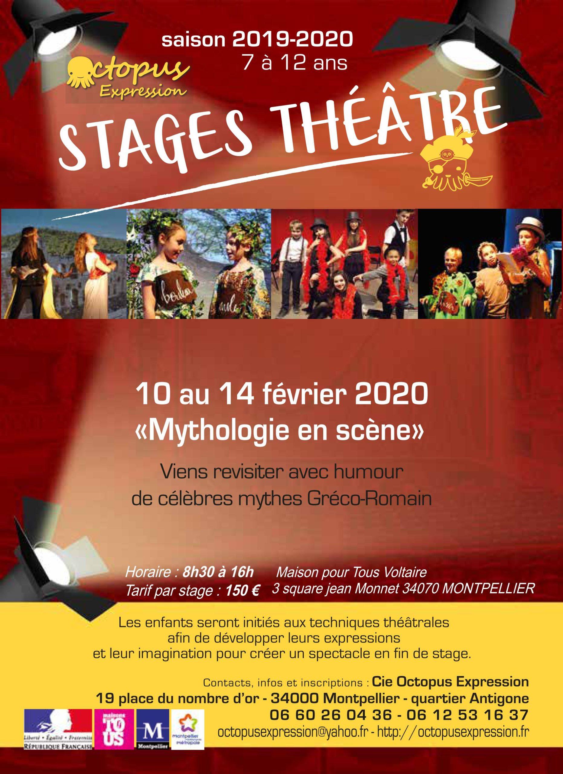 stage vavances théâtre février 2020