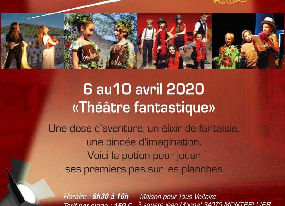 STAGE AVRIL DU 6 AU 10 AVRIL 2020
